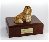 Lhasa Apso Dog Figurine Pet Cremation Urn - 759