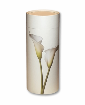 Lily Eco Friendly Cremation Urn Scattering Tube in 6 sizes