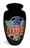 Live To Ride Picture Cremation Urn