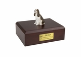 Liver Springer Spaniel Dog Figurine Pet Cremation Urn - 4036