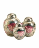 Lotus Heart Cremation Urn - 3 Sizes
