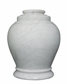 Love Antique White Marble Cremation Urn