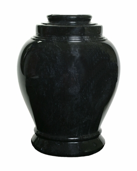Love Ebony Marble Cremation Urn