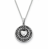 Love of a Lifetime Sterling Silver Memorial Jewelry Pendant