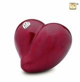 Loveheart Medium Cremation Urn