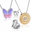 LoveUrns Treasure™ Memorial Cremation Pendants