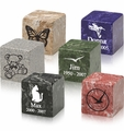Mackenzie Small Cube Urns - Engravable