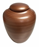 Mahogany Oceane Sand and Gelatin Biodegradable Cremation Urn