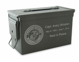 Marine Corps M2A1 Ammo Can Cremation Urn