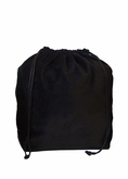Medium Black Velvet Cremation Urn Bag