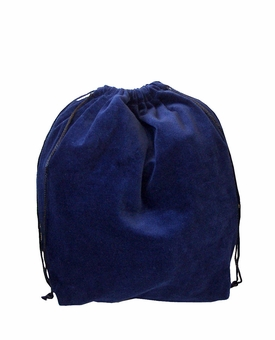Medium Blue Velvet Cremation Urn Bag