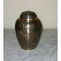 Medium Brass Butterfly Cremation Urn