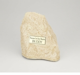Medium Limestone Rock Pet Cremation Urn