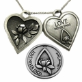 Memorial Tear® Pewter Token Jewelry