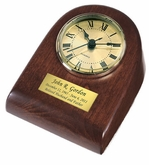 Merlot Mini-Clock Wood Keepsake Cremation Urn