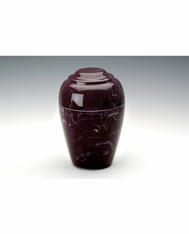 Merlot Small Grecian Cremation Urn - Engravable