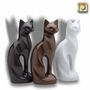 Midnight Cat Pet Cremation Urn