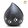 Midnight Love Drop Pet Cremation Urn