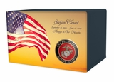 Military Eternal Reflections Wood Cremation Urn - 5 Urn Choices
