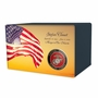 Military Eternal Reflections II Wood Cremation Urn - 5 Urn Choices
