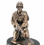 Military Soldier Solid Maple Wood Cremation Urn