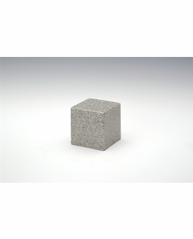Mist Gray Small Cube Cremation Urn - Engravable