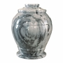 Monarch Cashmere Gray Marble Cremation Urn