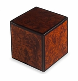 Montreaux Rustic Natural Burl Wood Small Cremation Urn