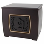 Mother and Child Modern Companion Wood Cremation Urn