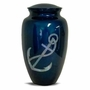 Mother Of Pearl Anchor Cremation Urn