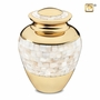 Mother of Pearl Cremation Urn