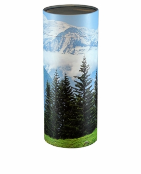 Mountain View Eco Friendly Cremation Urn Scattering Tube in 2 sizes