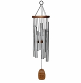 My Sweetheart Magical Mystery Chime Silver Finish Wind Chime