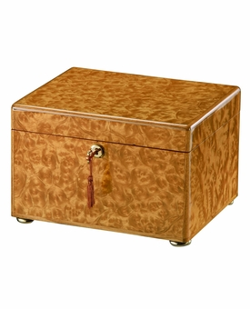 Natural Elm Tranquil Cremation Urn Chest