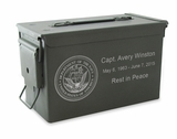 Navy M2A1 Ammo Can Cremation Urn