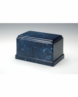 Navy Olympus Cremation Urn - Engravable