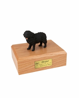 Newfoundland Dog Figurine Pet Cremation Urn - 785