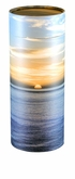 Ocean Sunset Eco Friendly Cremation Urn Scattering Tube in 4 sizes
