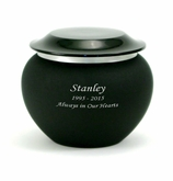 Onyx Pagoda Extra Small Cremation Urn - Engravable