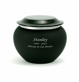 Onyx Pagoda Petite Cremation Urn - Engravable