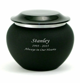 Onyx Pagoda Small Cremation Urn - Engravable