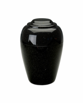 Orca Black Grecian Cremation Urn - Engravable