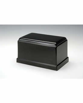 Orca Black Olympus Cremation Urn - Engravable