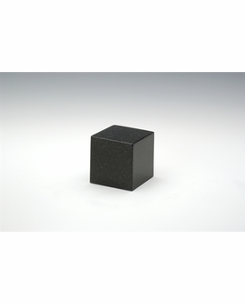 Orca Black Small Cube Cremation Urn - Engravable