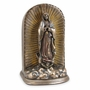 Our Lady of Guadalupe Cold Cast Bronze Finish Cremation Urn