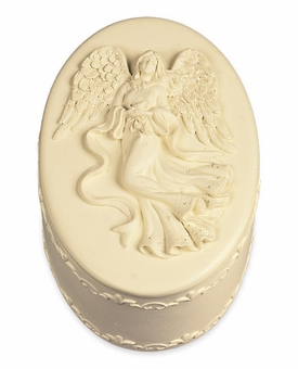 Oval Keepsake Cremation Urn Box