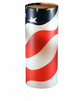 Patriot Eco Friendly Cremation Urn Scattering Tube in 2 sizes