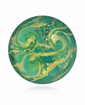 Peaceful Cremains Encased in Glass Cremation Healing Stone