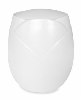 Pearl Dahlia Sand and Gelatin Biodegradable Cremation Urn
