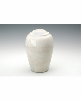 Pearl Small Grecian Cremation Urn - Engravable